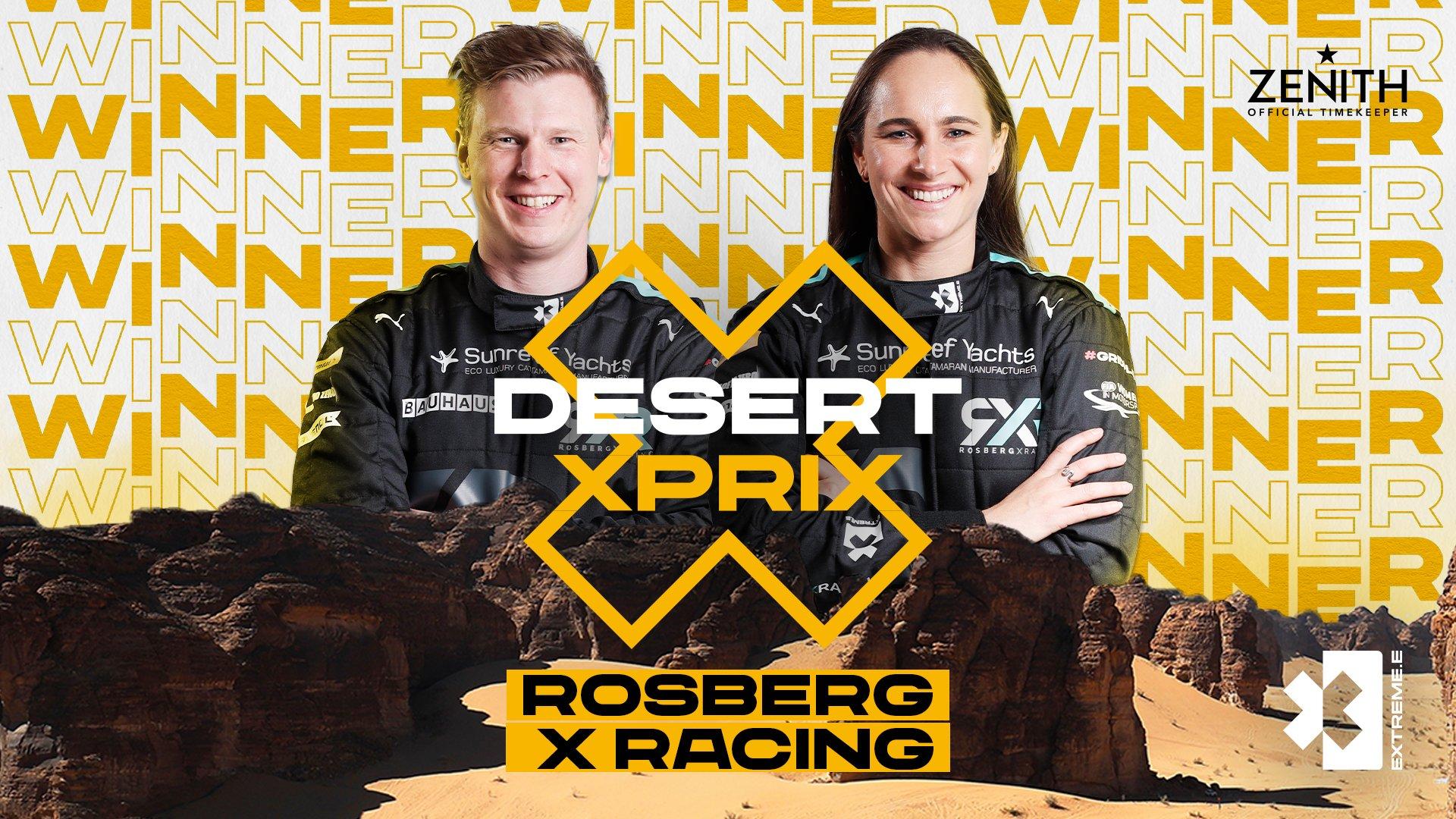 Desert X Prix - Winners
