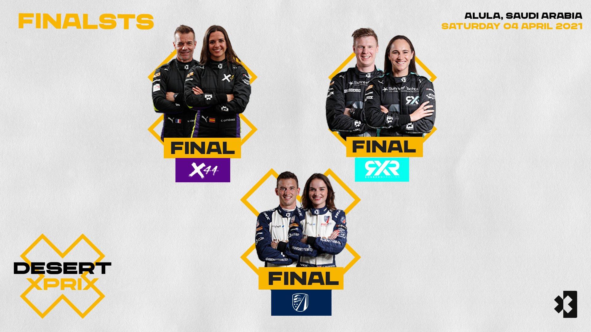 Extreme E- Desert X Prix Finalists
