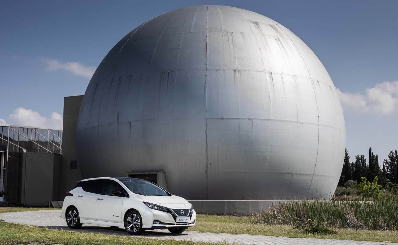 Το νέο Nissan Leaf παρουσιάστηκε στο Κέντρο Διάδοσης Επιστημών & Μουσείο Τεχνολογίας «NOESIS» στη Θεσσαλονίκη.
