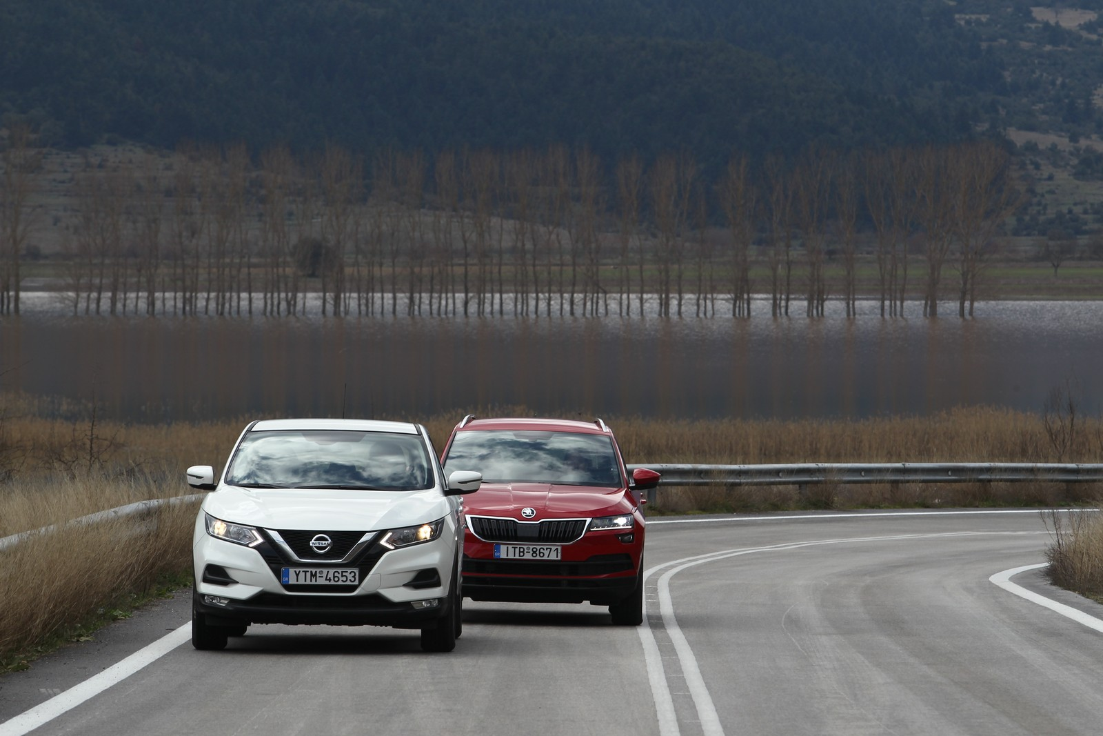 Nissan Qashqai 1.3 DCT7 και Skoda Karoq 1.5 DSG7