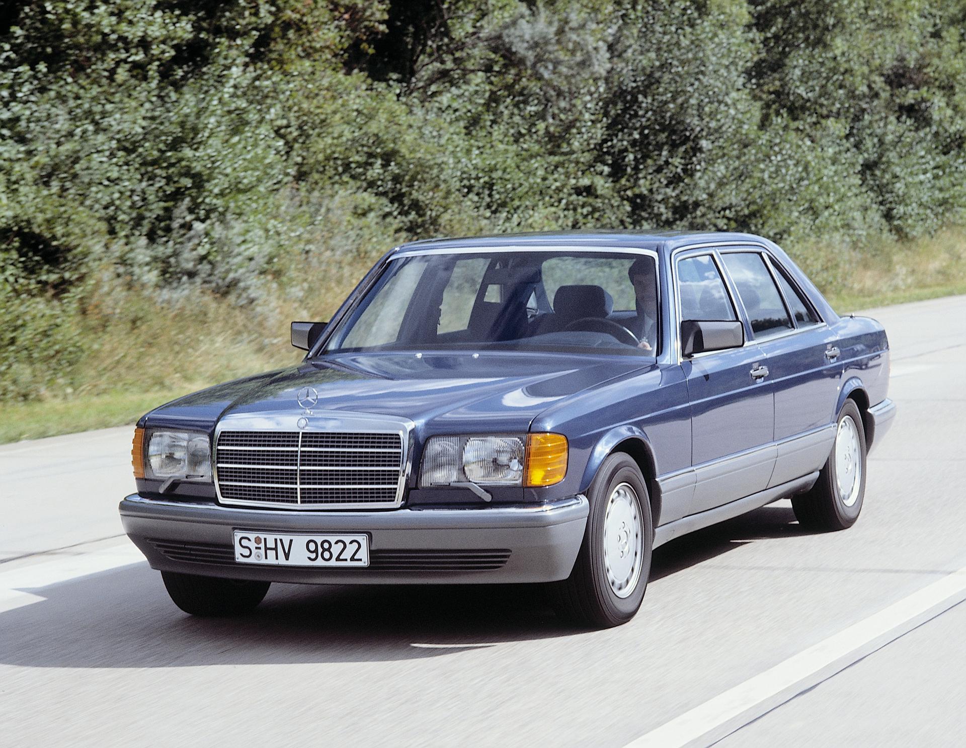 Mercedes S-Class W126