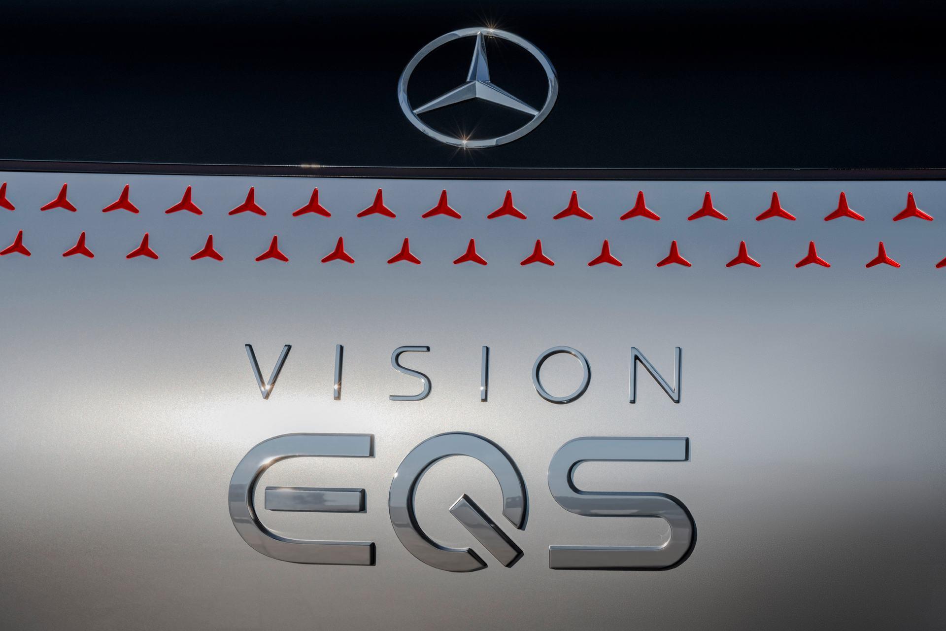 Mercedes Vision EQ