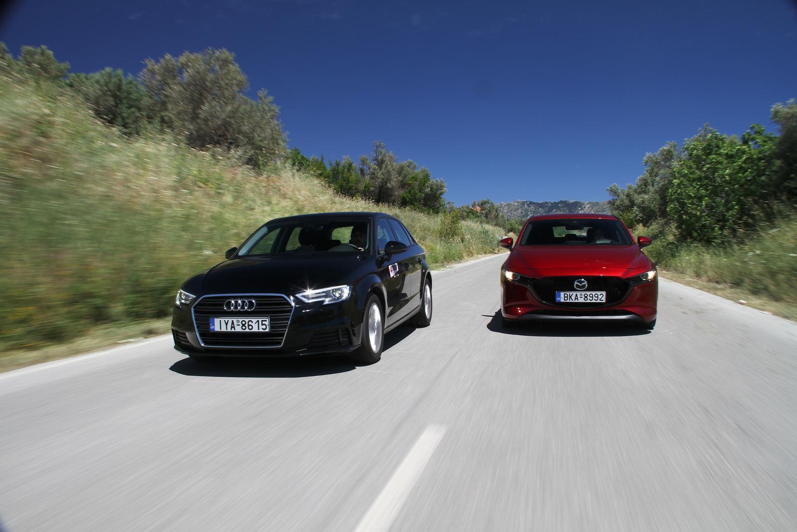 Audi A3 - Ford Focus - Mazda3