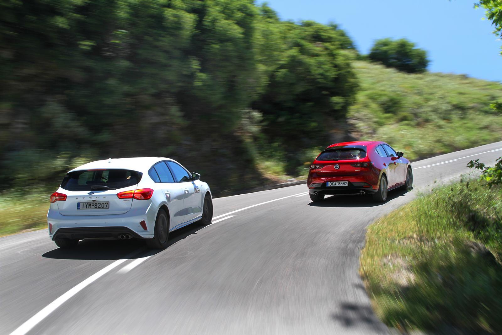 Audi A3 - Mazda3 - Ford Focus