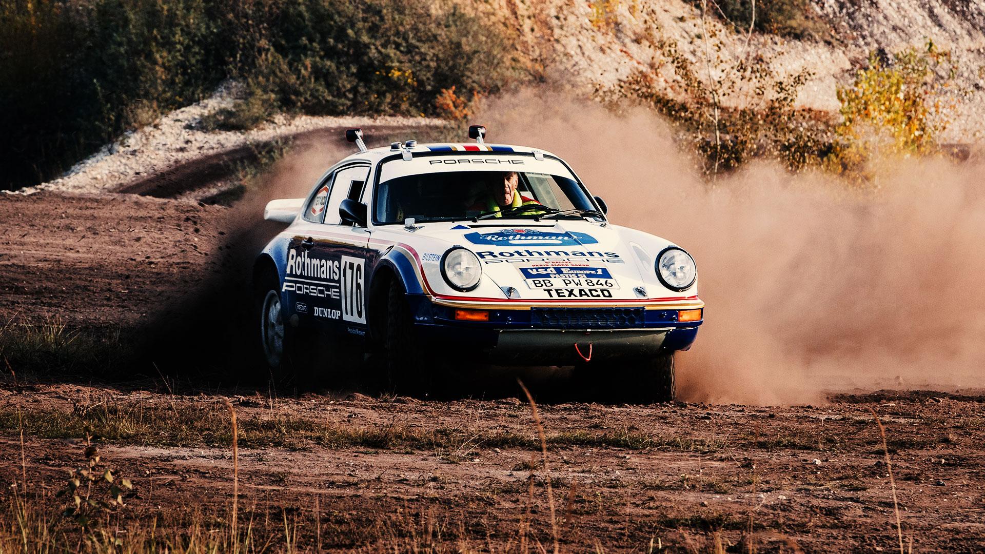 Porsche 911 Paris-Dakar