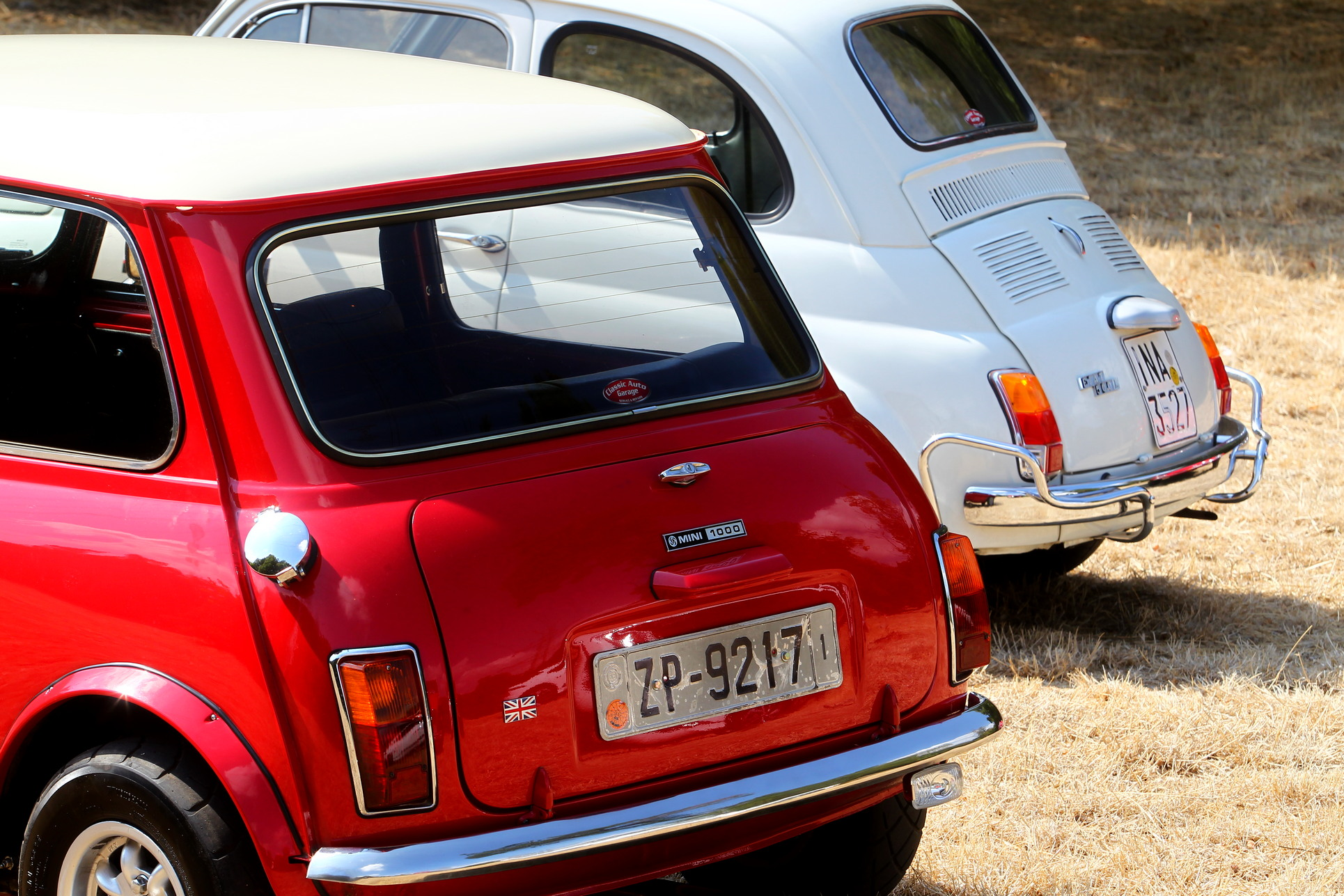 Fiat 500 - British Leyland Mini