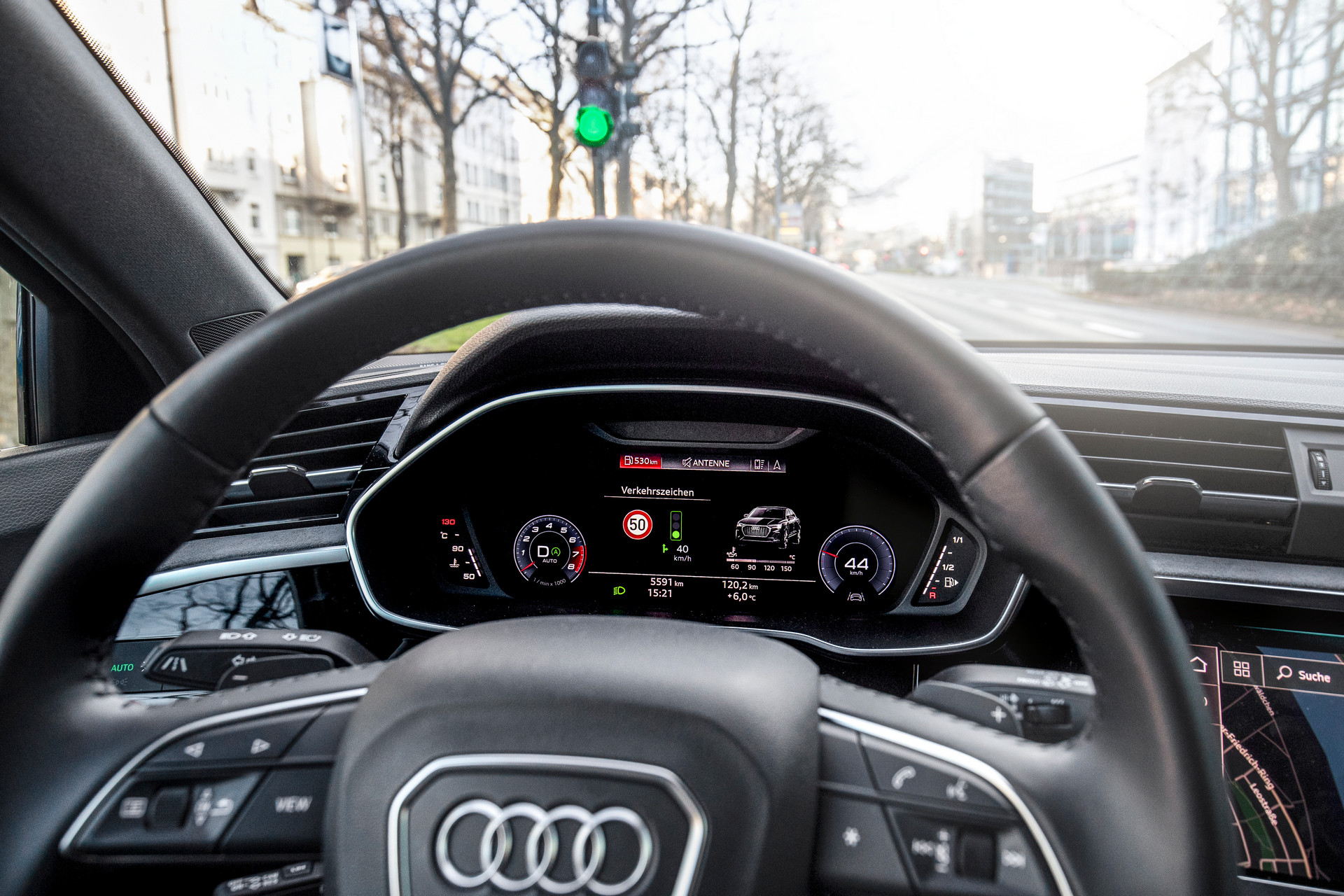 Audi Traffic Light Information