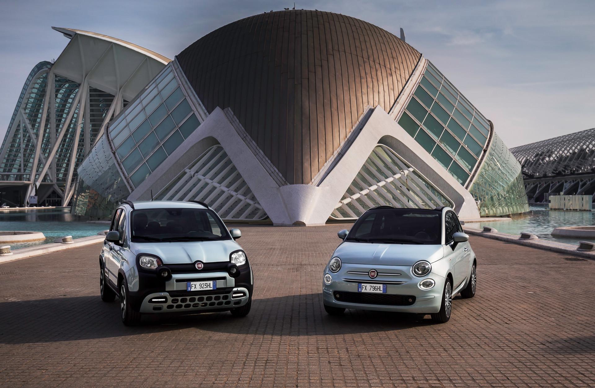 Fiat 500 Hybrid - Fiat Panda Hybrid