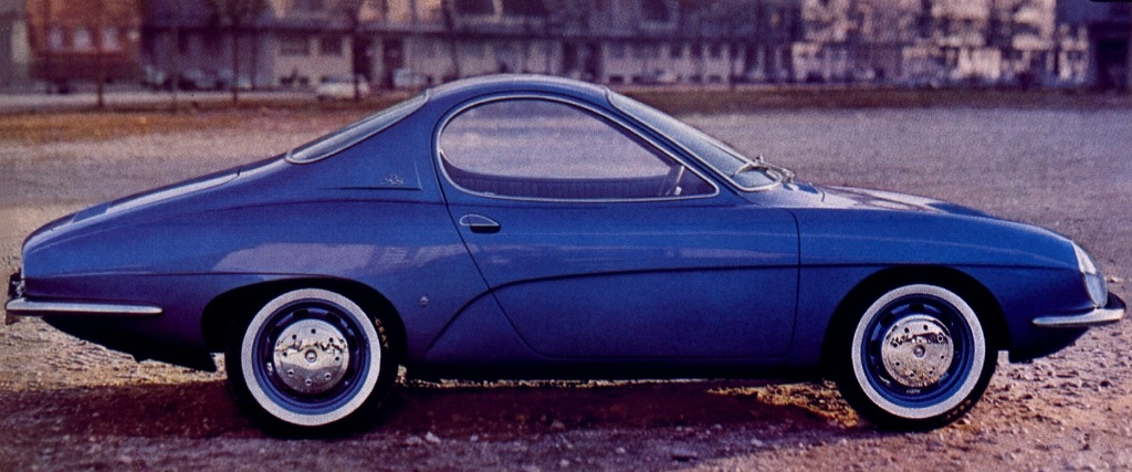 1964 Ghia Renault R8 Coupe Sport Prototype
