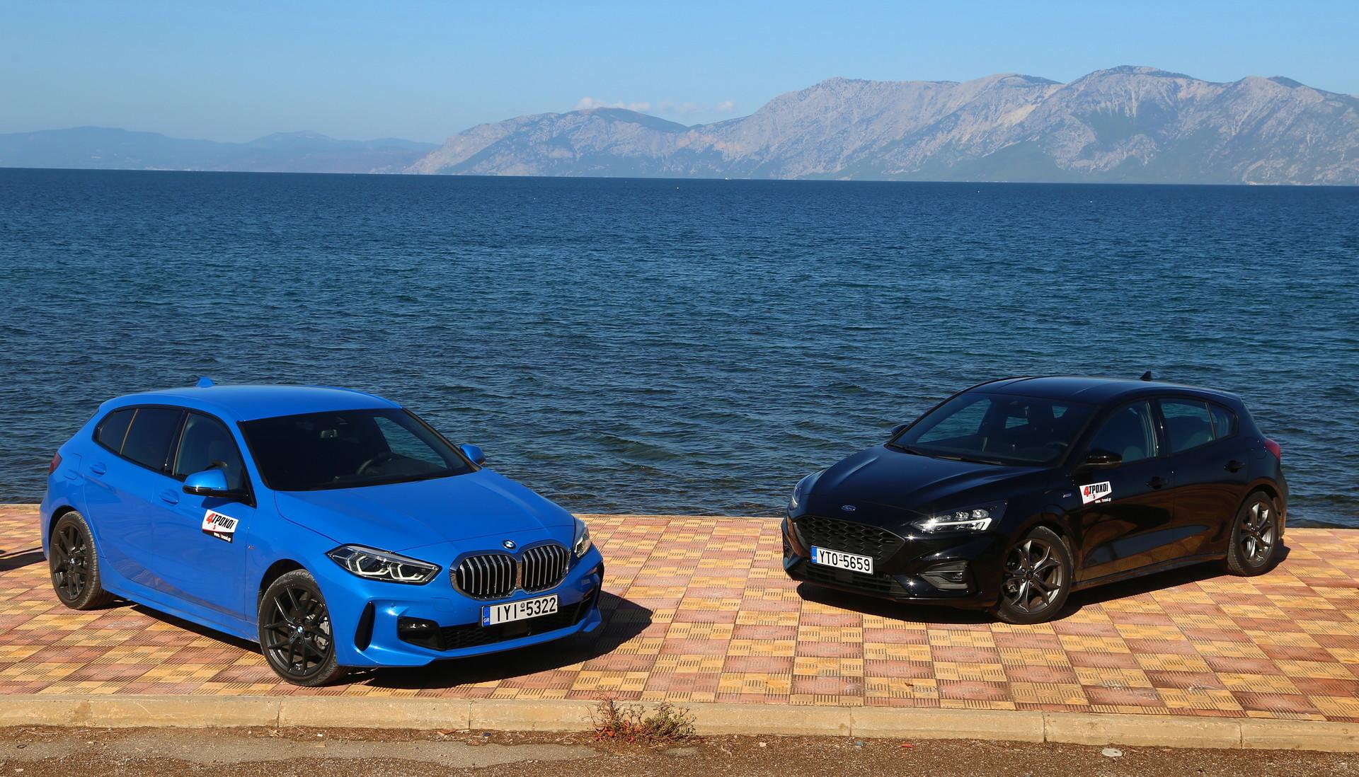 BMW 116d – Ford Focus 1.5D ST-Line