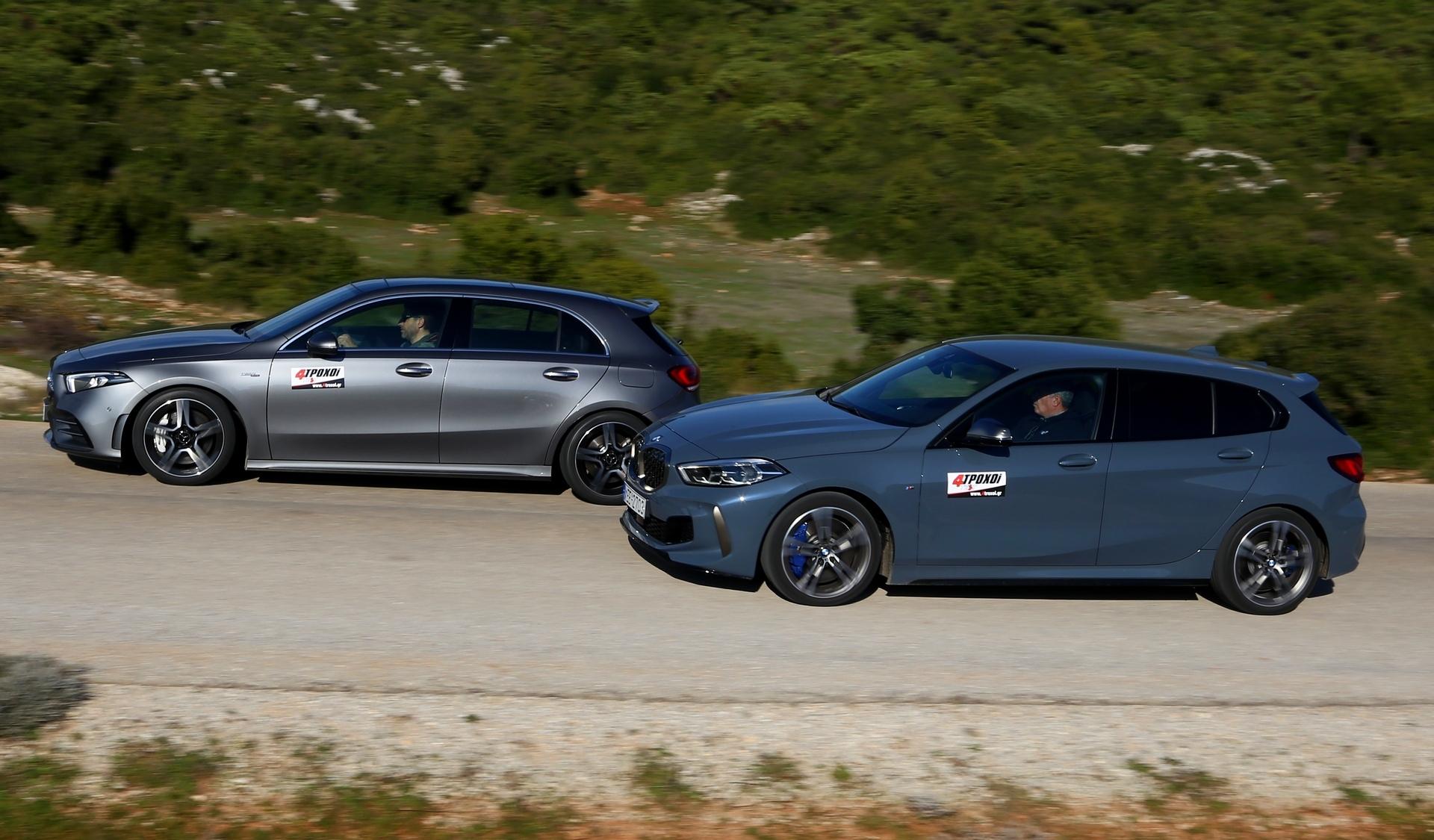 BMW M135i xDrive - Mercedes-AMG A35 4Matic