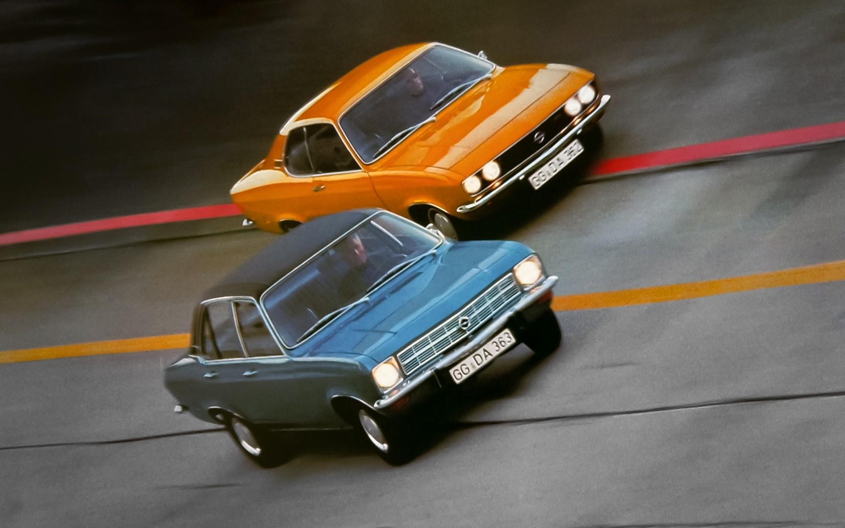 Opel Ascona - Opel Manta