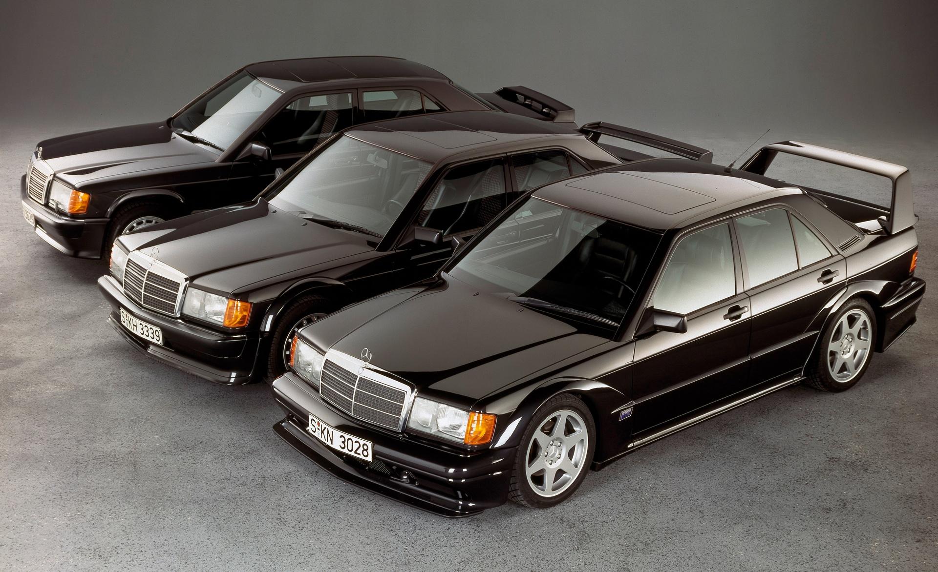 Mercedes 190 E 2.3-16 - Mercedes 190 E 2.5-16 Evolution - Mercedes 190 E 2.3-16 Evolution II