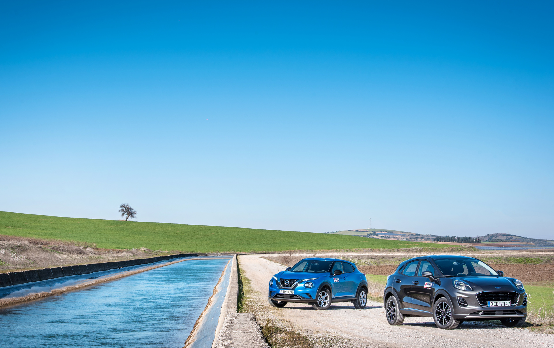 Ford Puma 1.0 EcoBoost Hybrid 125 PS – Nissan Juke 1.0 DIG-T 117 PS