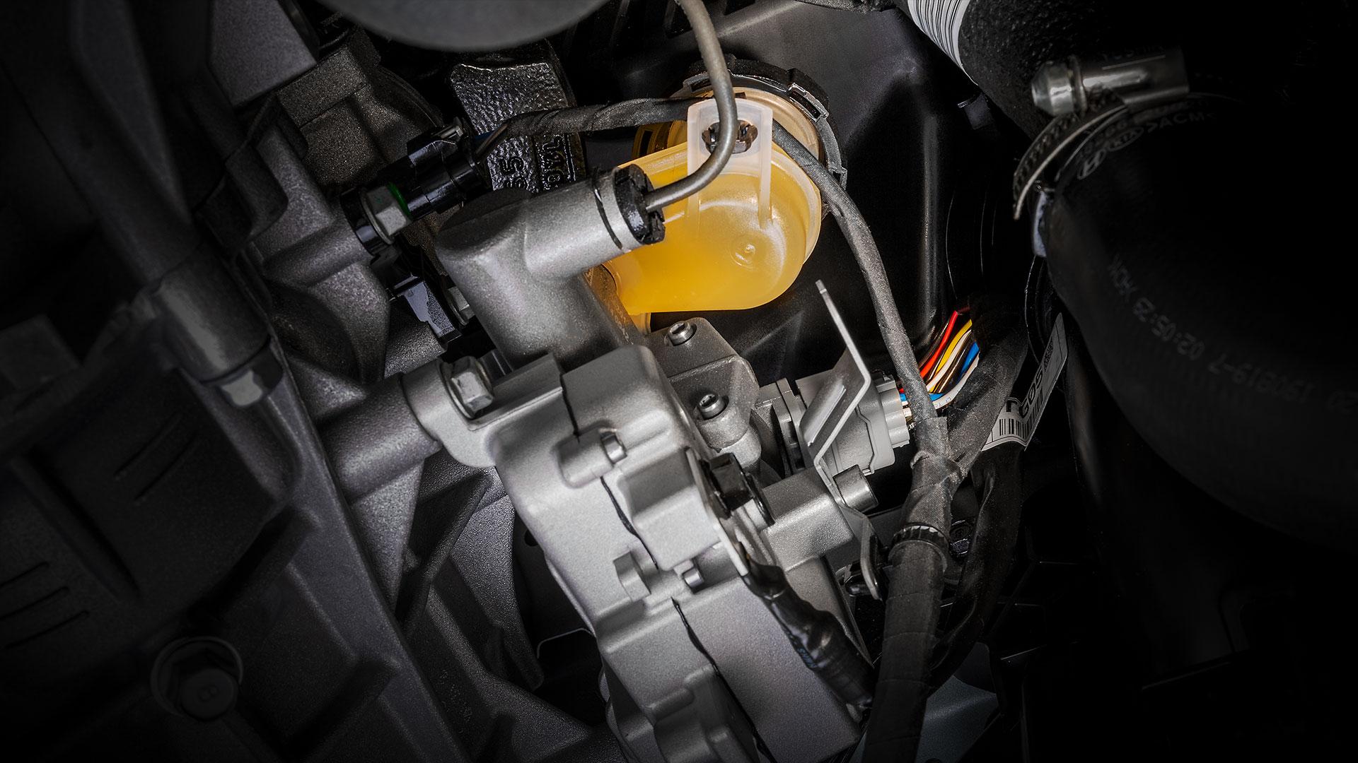 Clutch-by-wire transmission by Kia