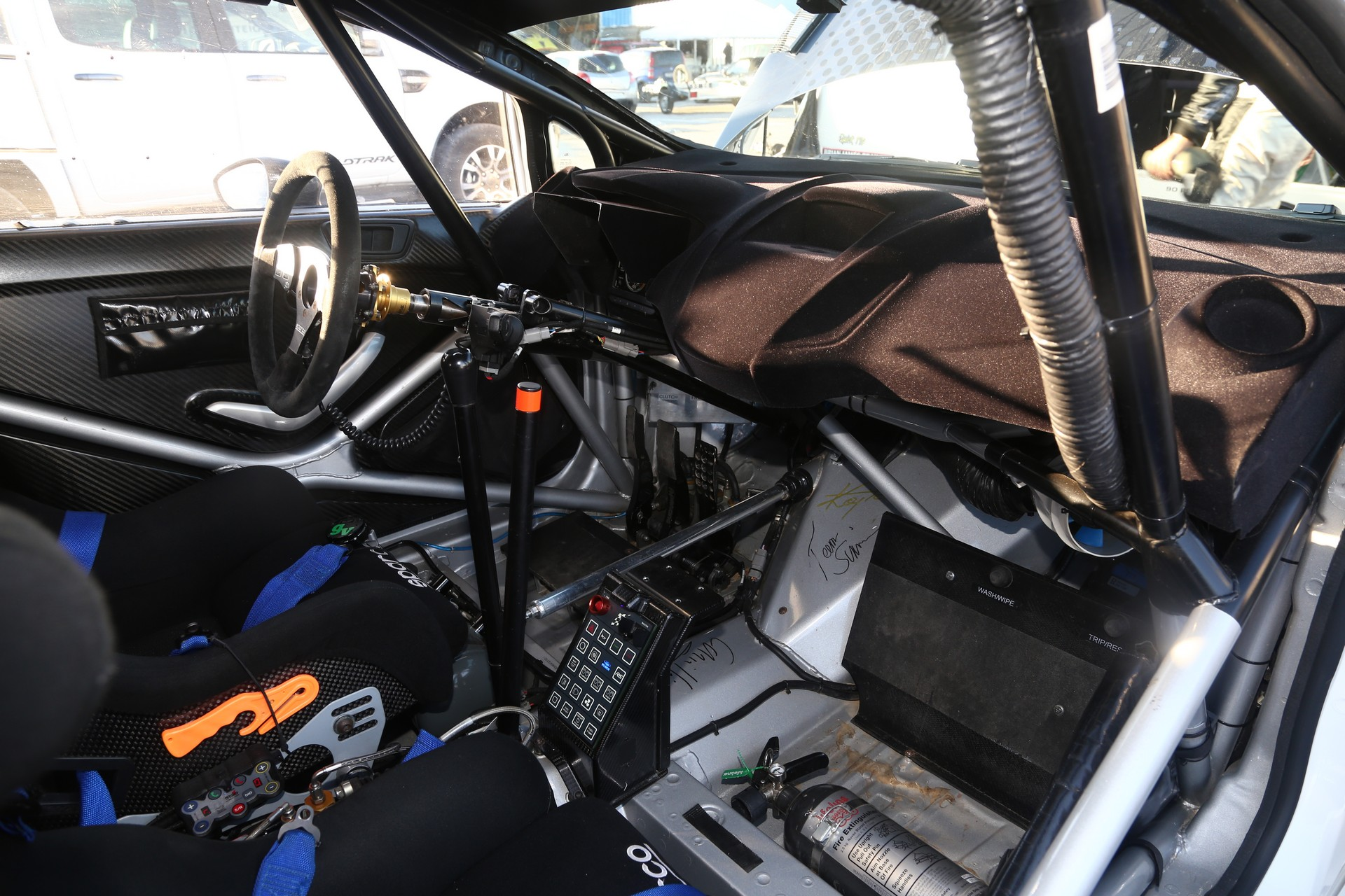 Ford Fiesta R5 - Interior