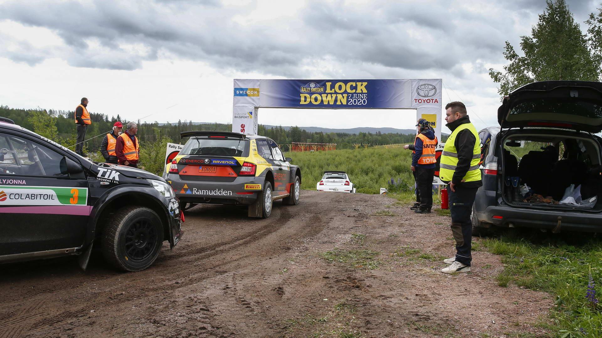 Rally Sweden Lockdown