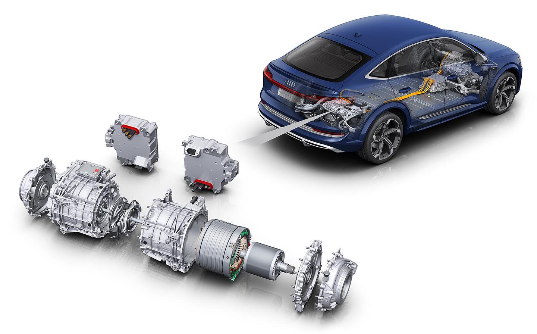 Audi e-tron S - Audi e-tron S Sportback