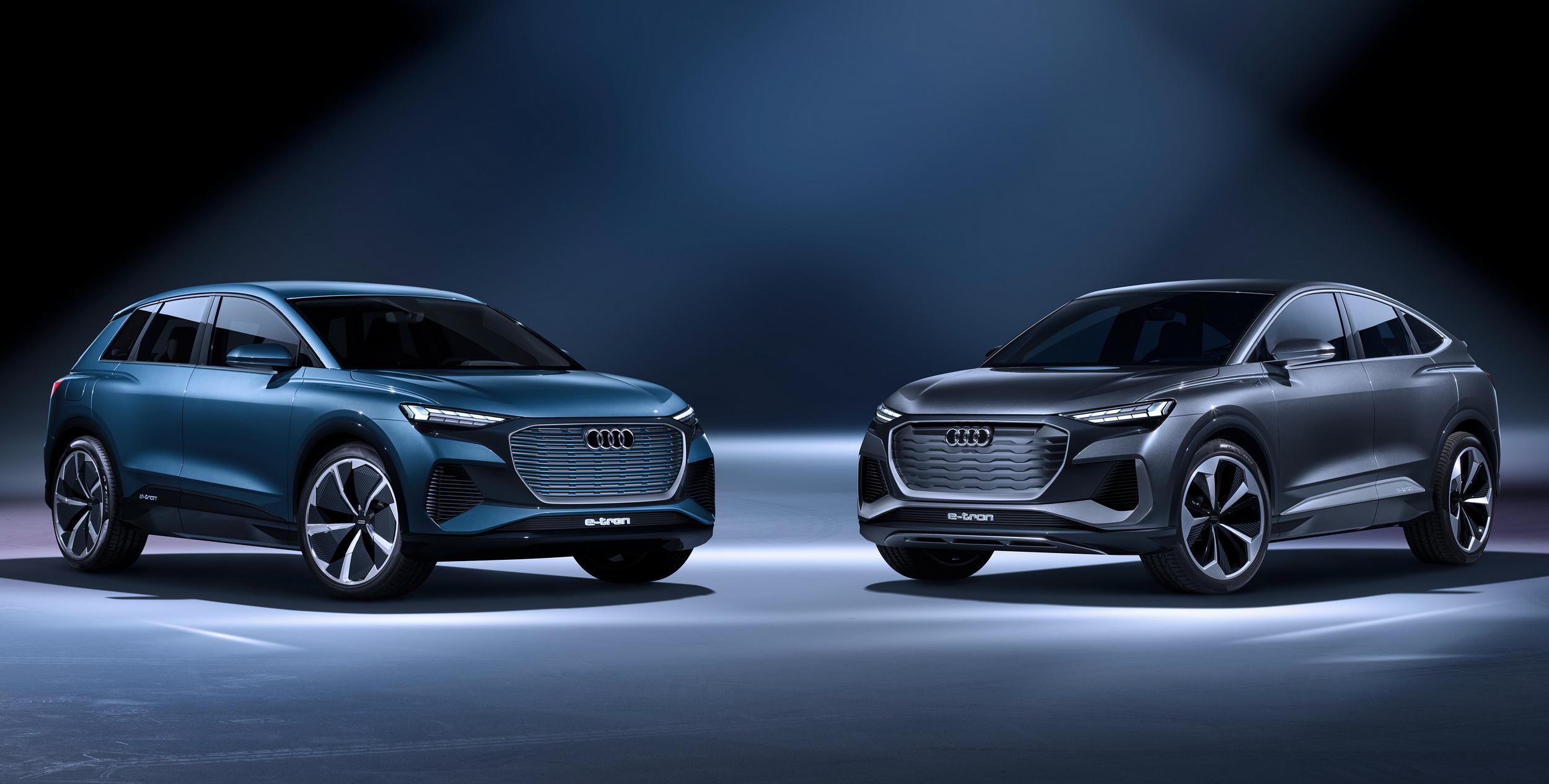 Πρεμιέρα για την ιδέα του Audi Q4 Sportback e-tron