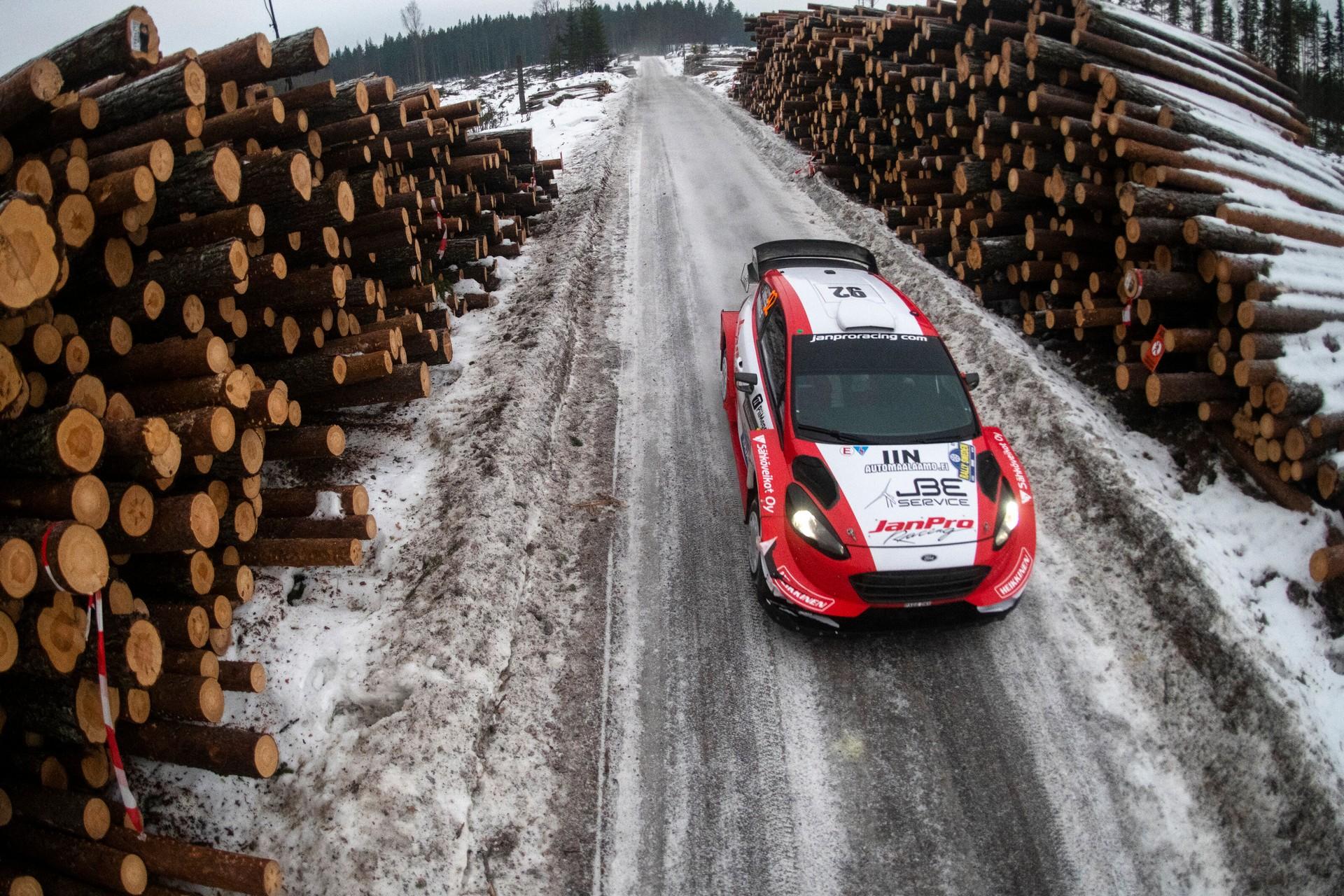 Ford Fiesta WRC JanPro
