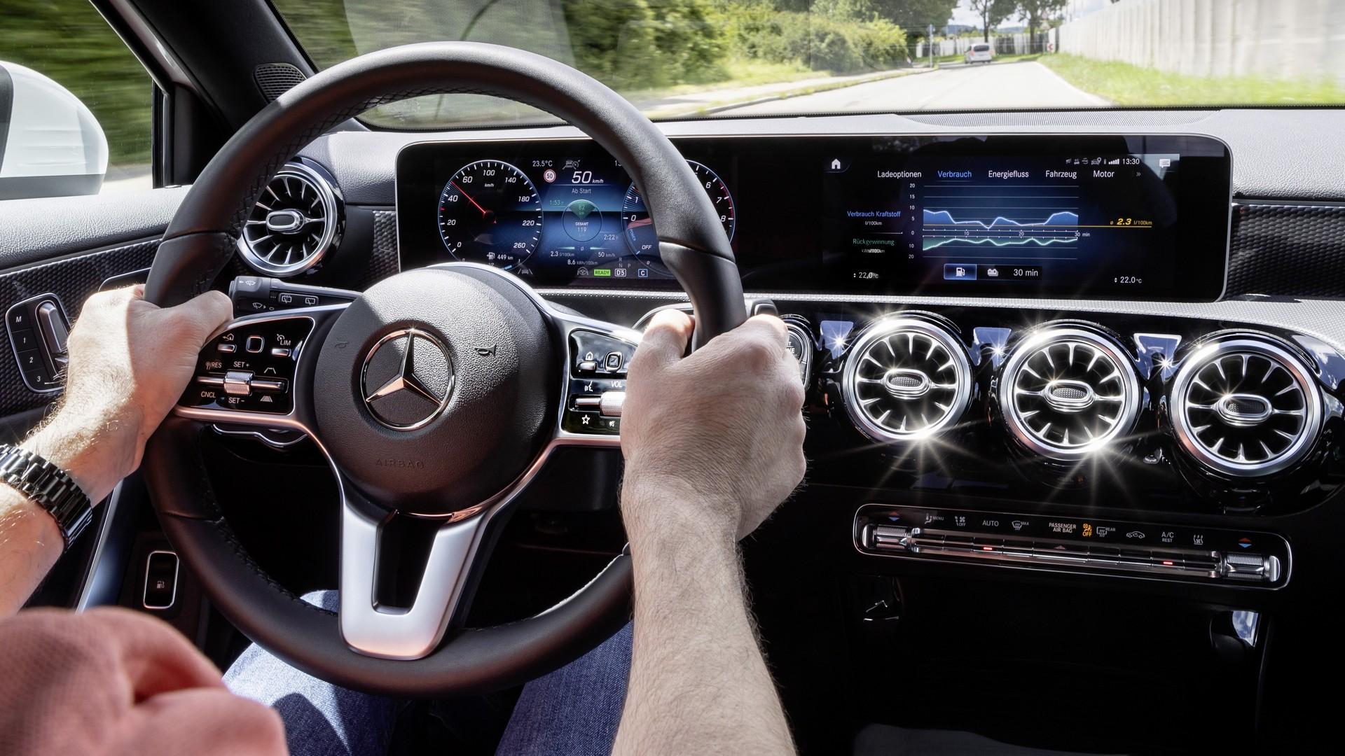 Mercedes Plug-in hybrid