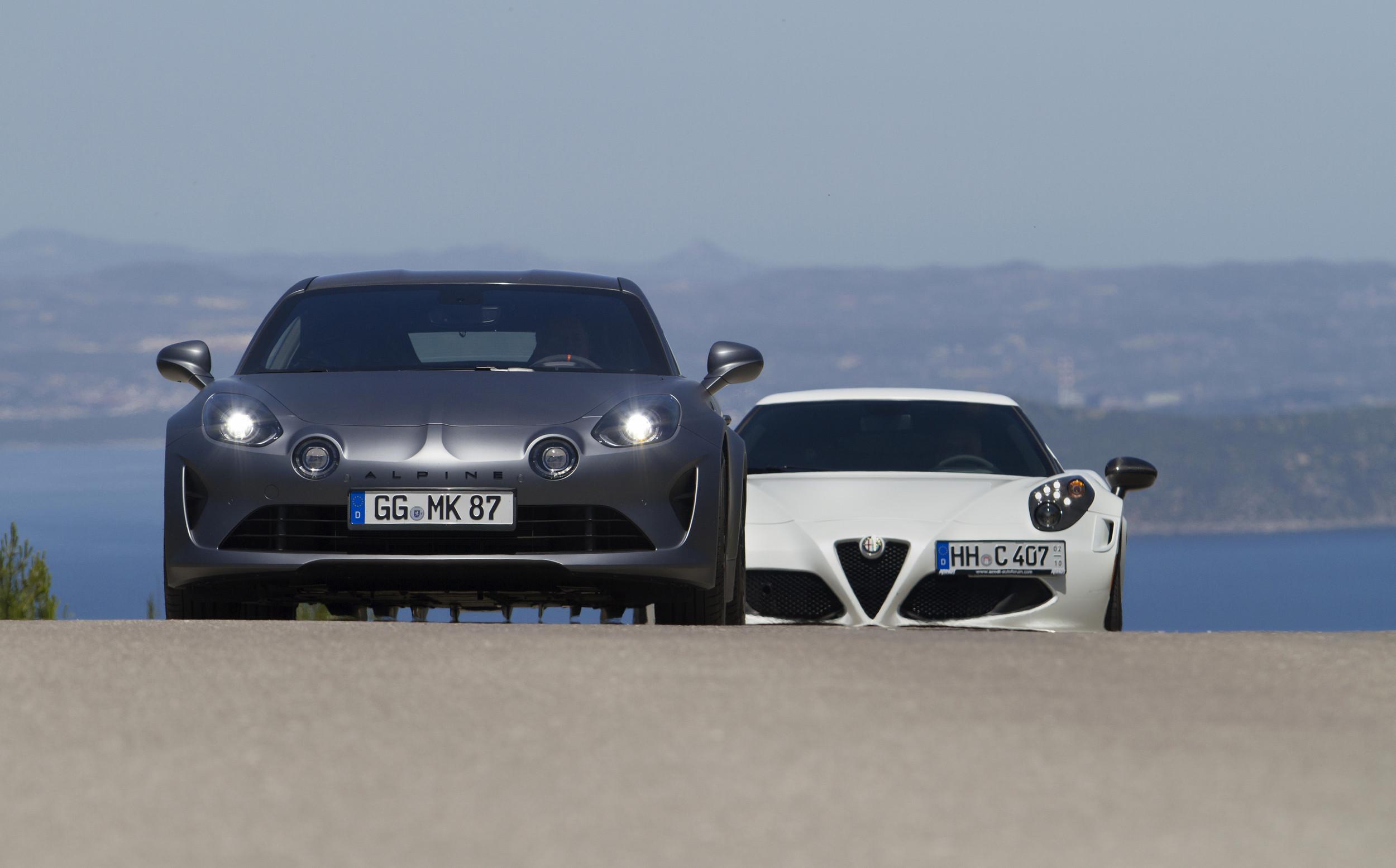 Alpine A110 S - Alfa Romeo 4C