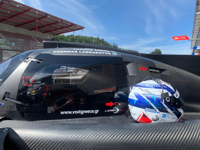 European Le Mans Series - Ανδρέας Λασκαράτος