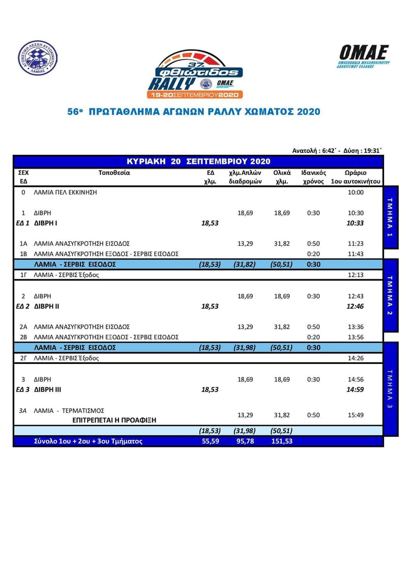 37RF New Itinerary
