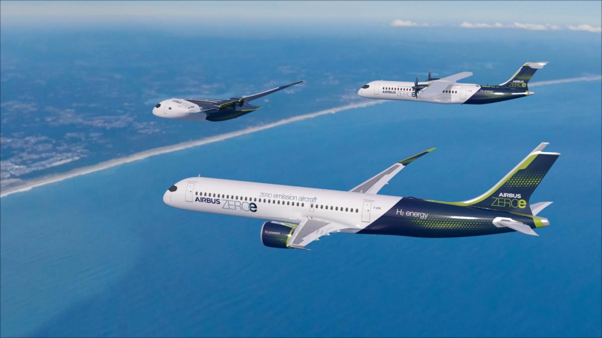 Airbus-zero-emissions-aircraft
