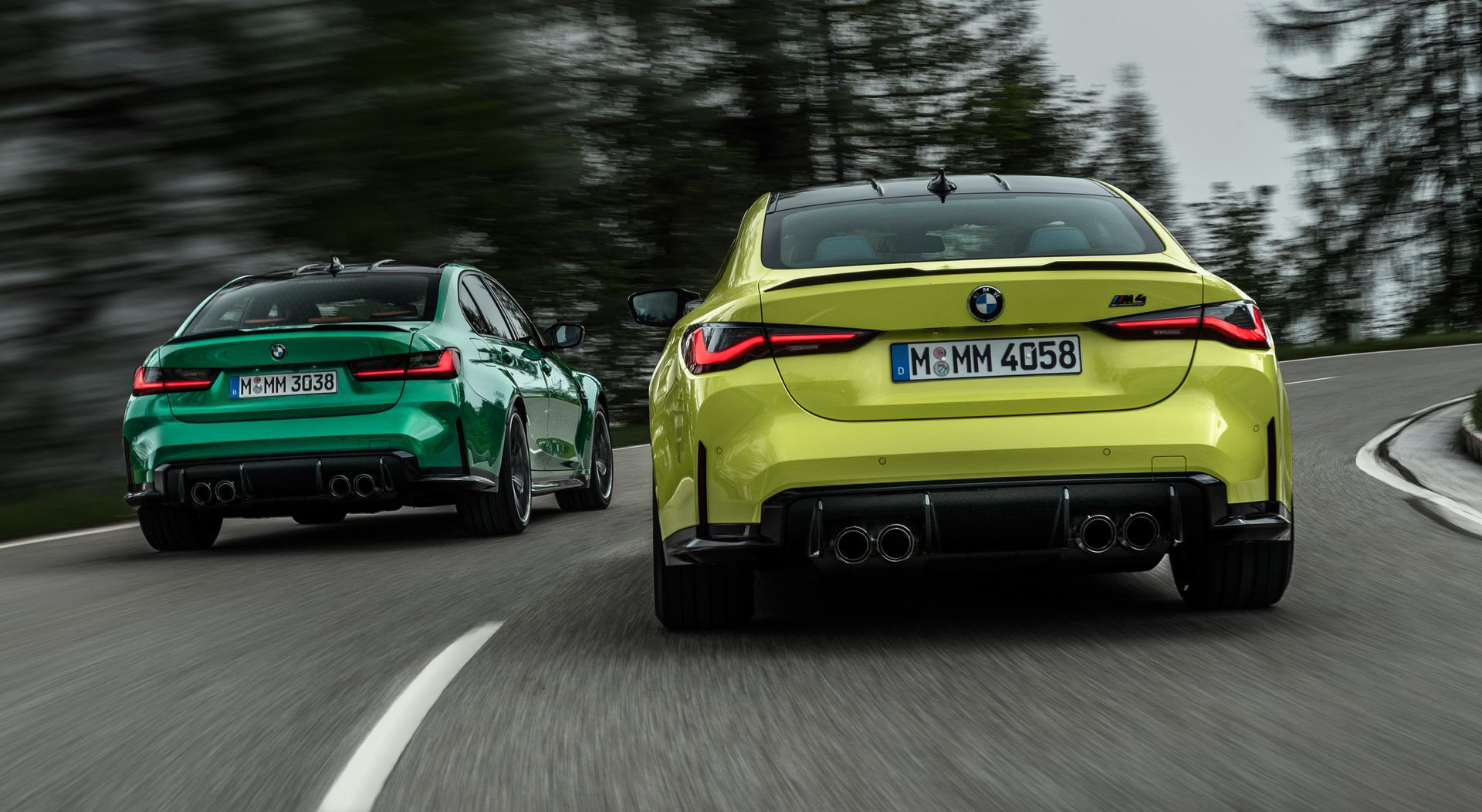 BMW M3 Sedan - BMW M4 Coupe