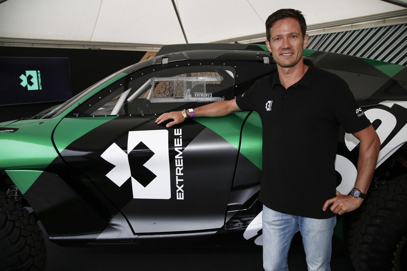 Extreme E Sebastien Ogier