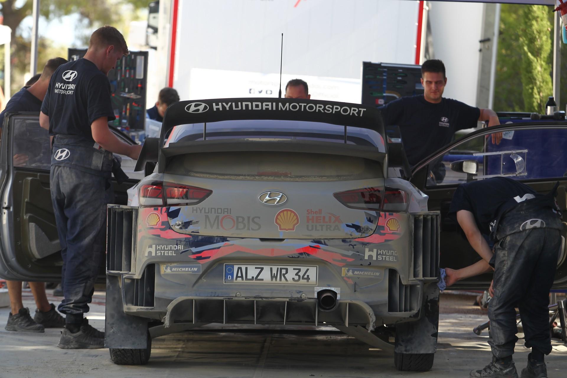 Hyundai Testing