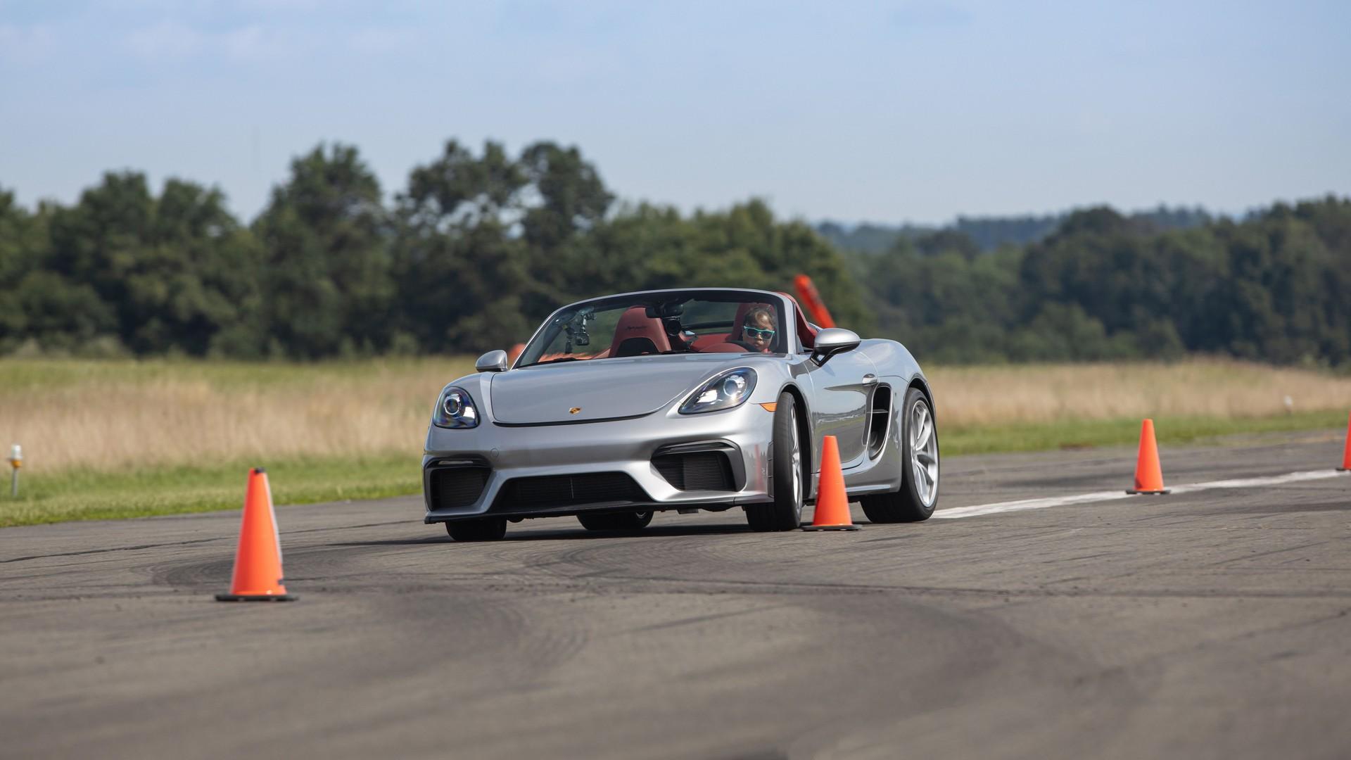 Porsche 718 Spyder - Guinness World Records