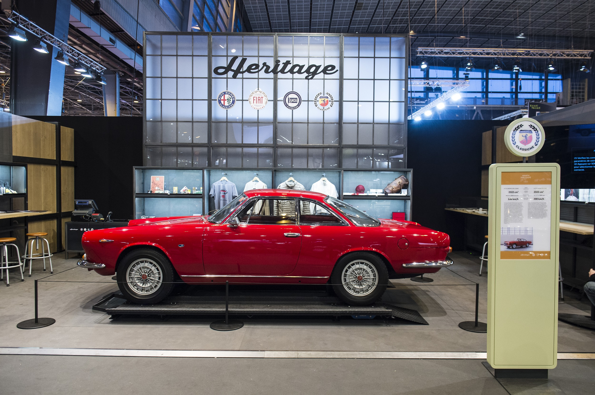Abarth 2400 Coupe Allemano |  4WHELELS