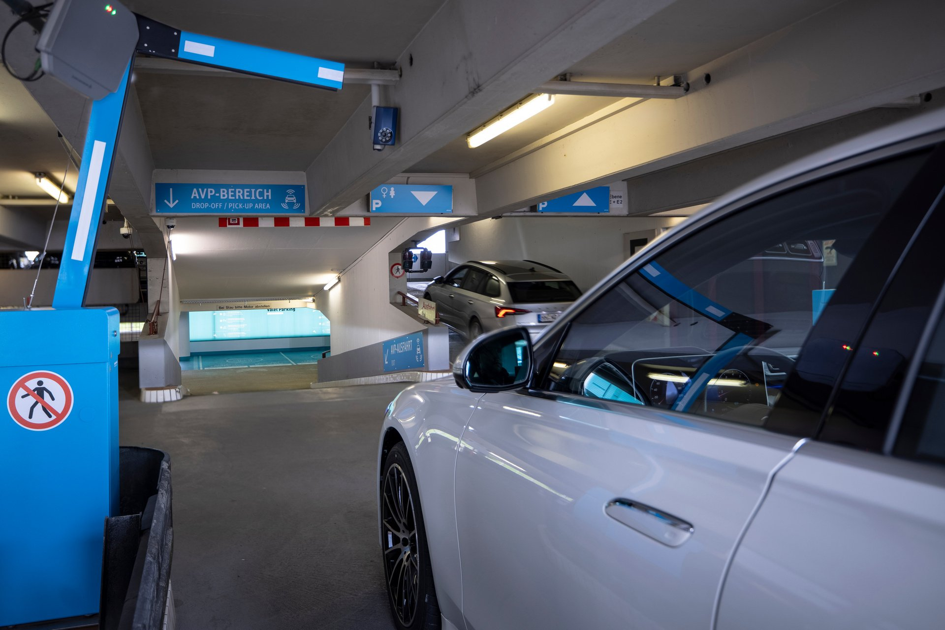 Mercedes Automated Valet Parking