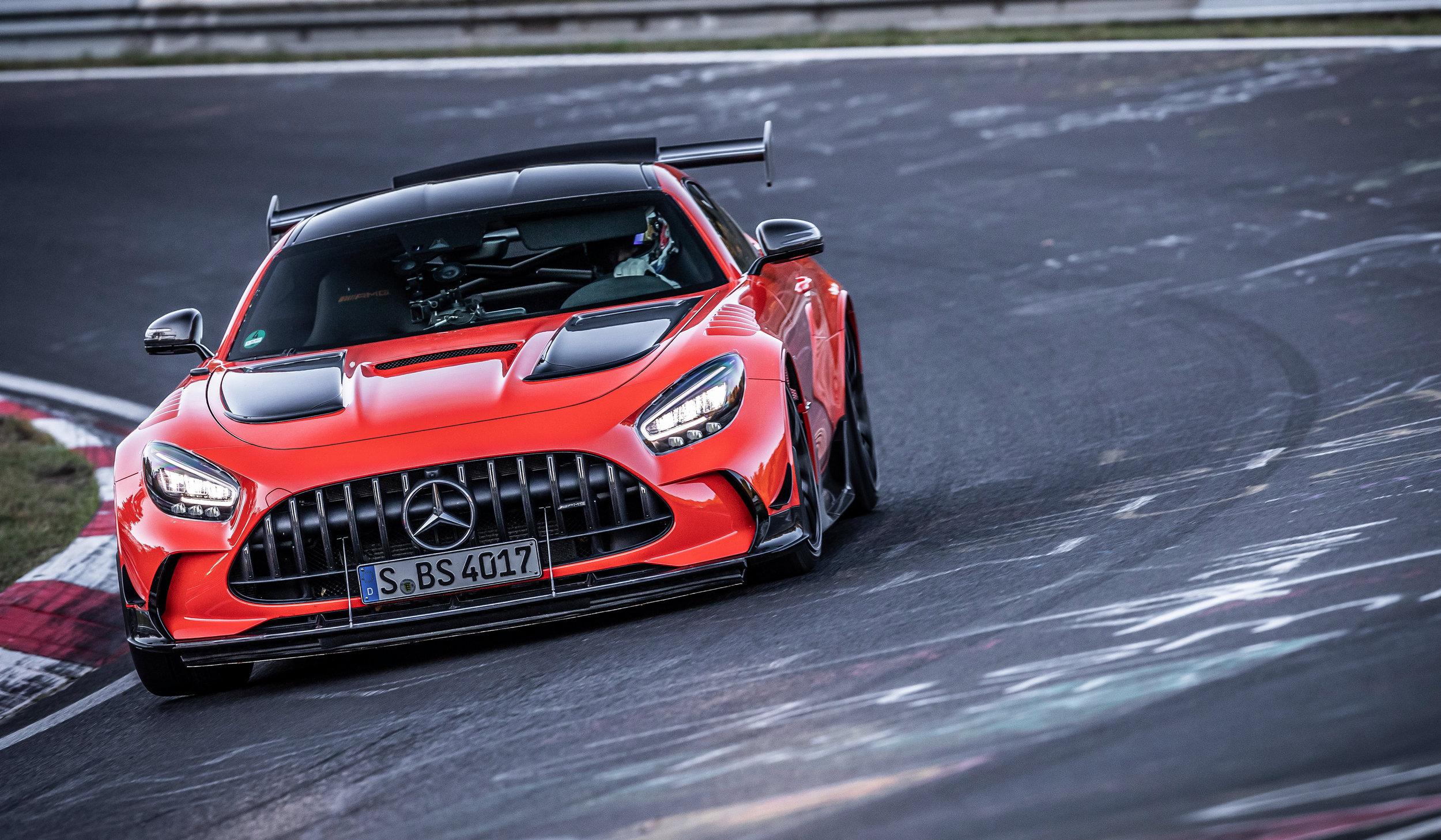 Mercedes-AMG GT Black Series @ Nurburgring