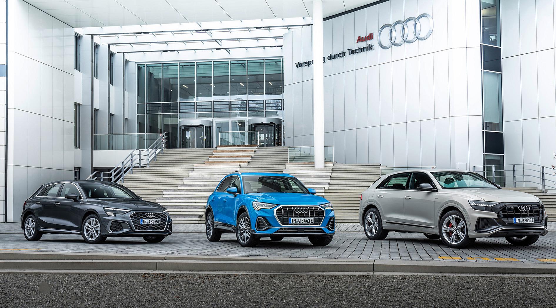 Η γκάμα των plug-in υβριδικών μοντέλων από την Audi