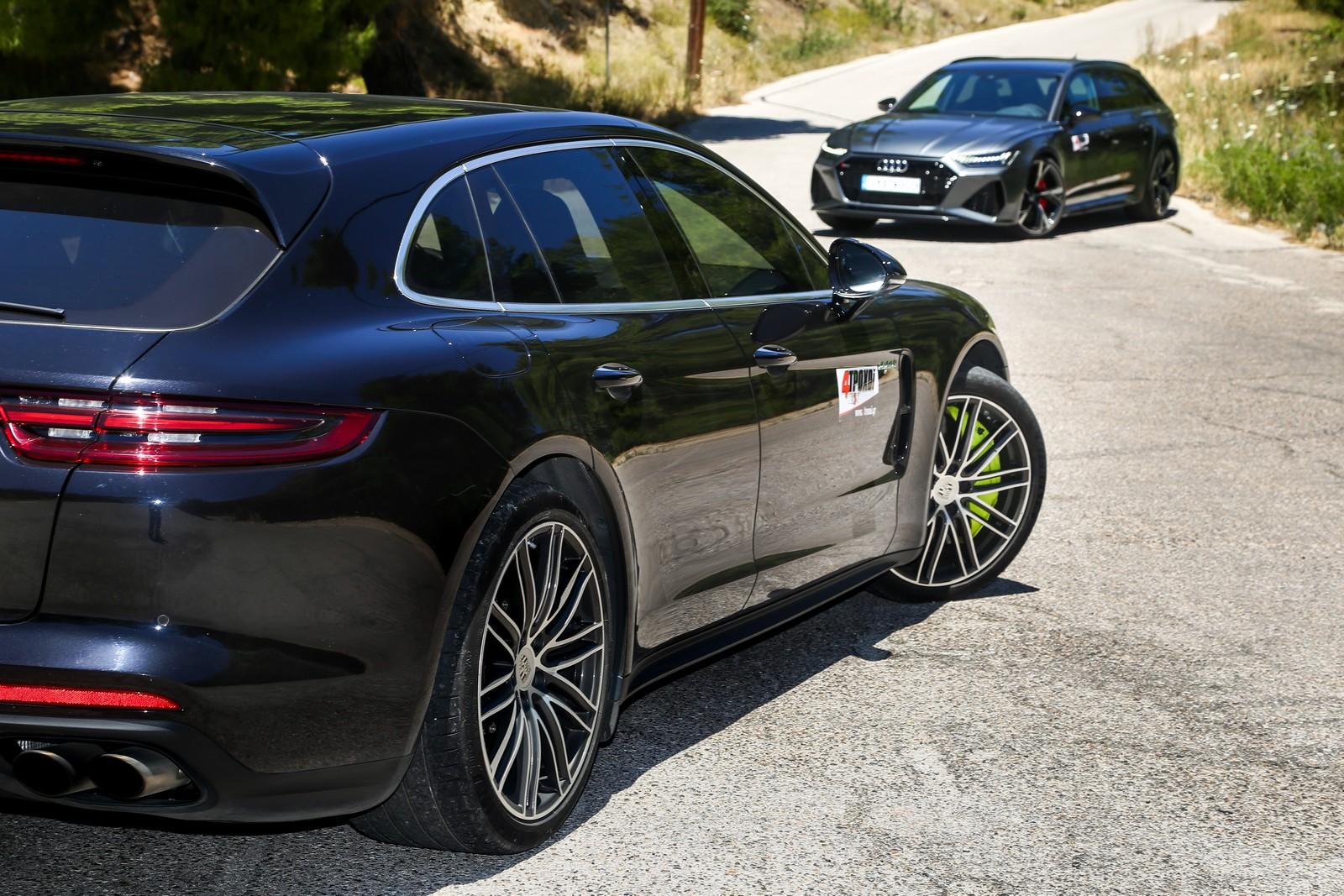 Audi RS 6 & Porsche Panamera S E-Hybrid Sport Turismo
