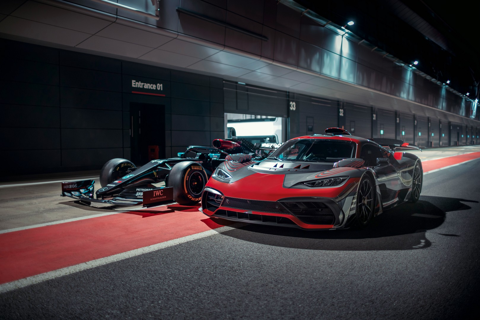 Mercedes-AMG Project One - Mercedes F1