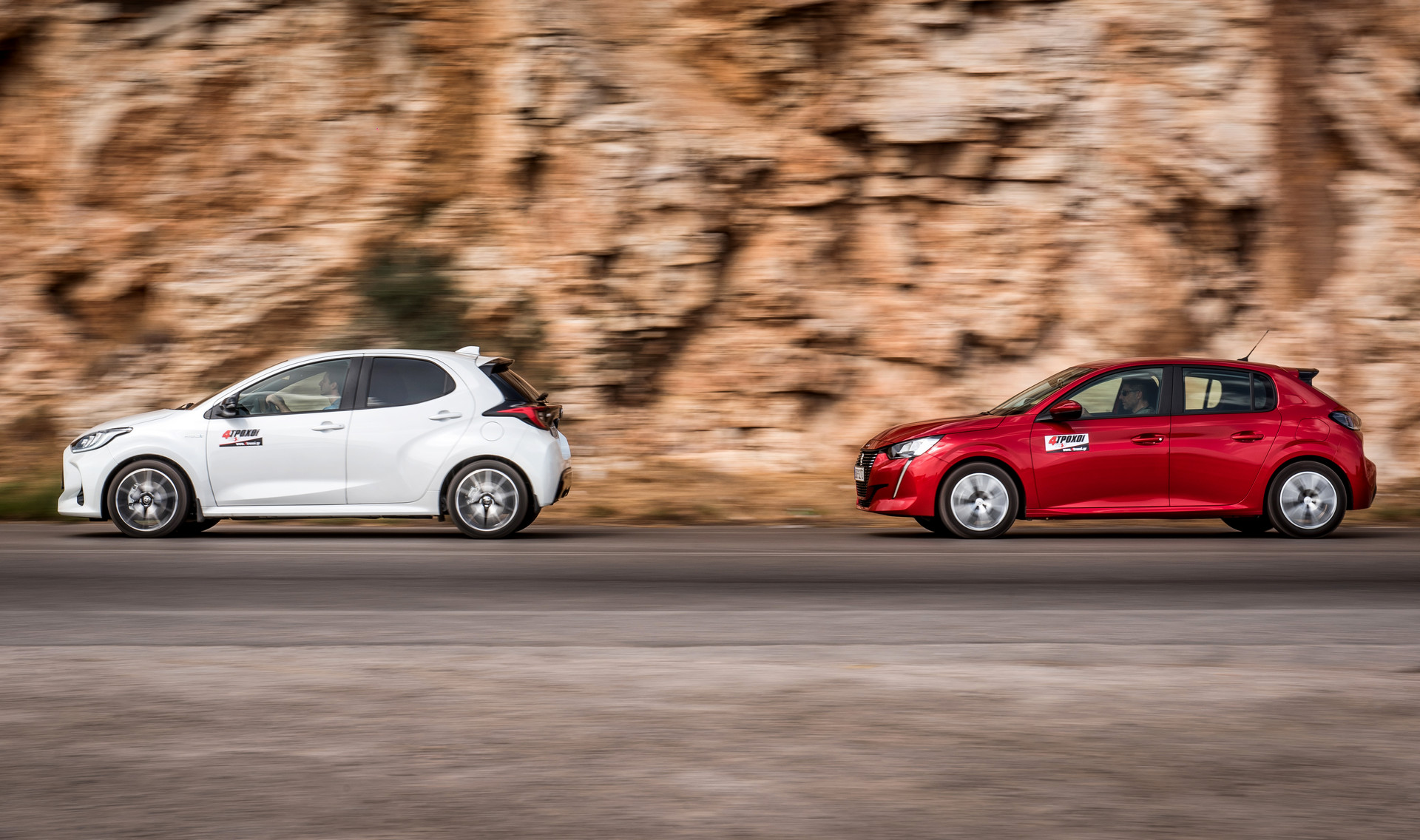 Toyota Yaris 1.5 Hybrid – Peugeot 208 1.2 PureTech 100 EAT8