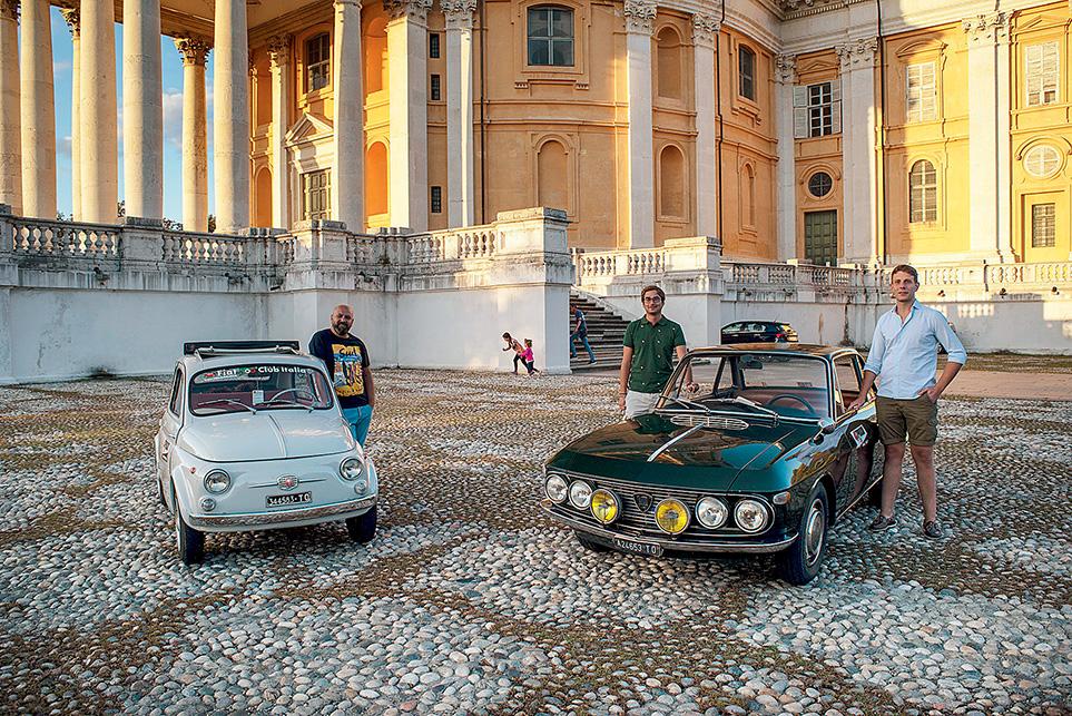 Fiat 500 Lancia Fulvia Coupe
