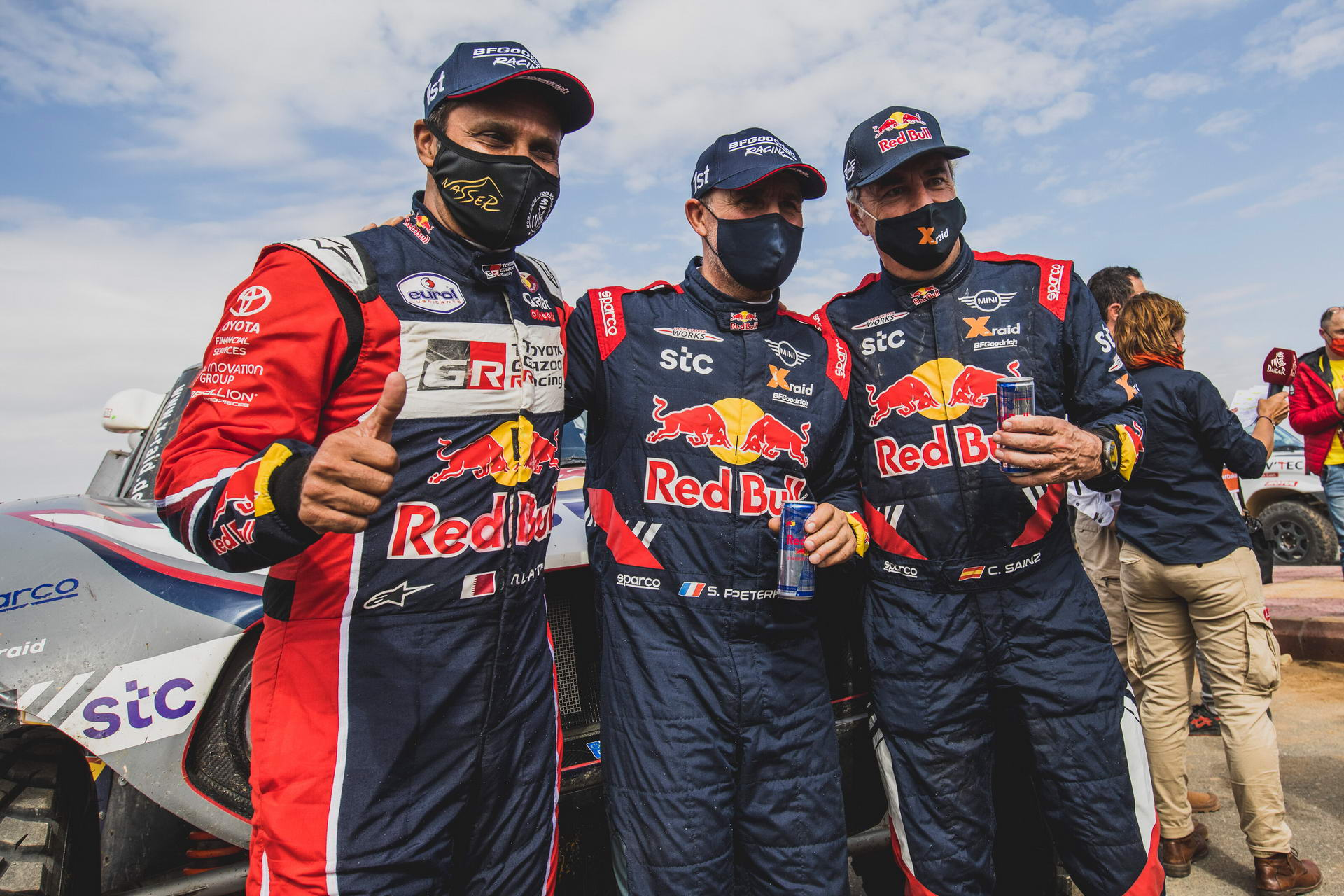 Dakar Top 3 Cars