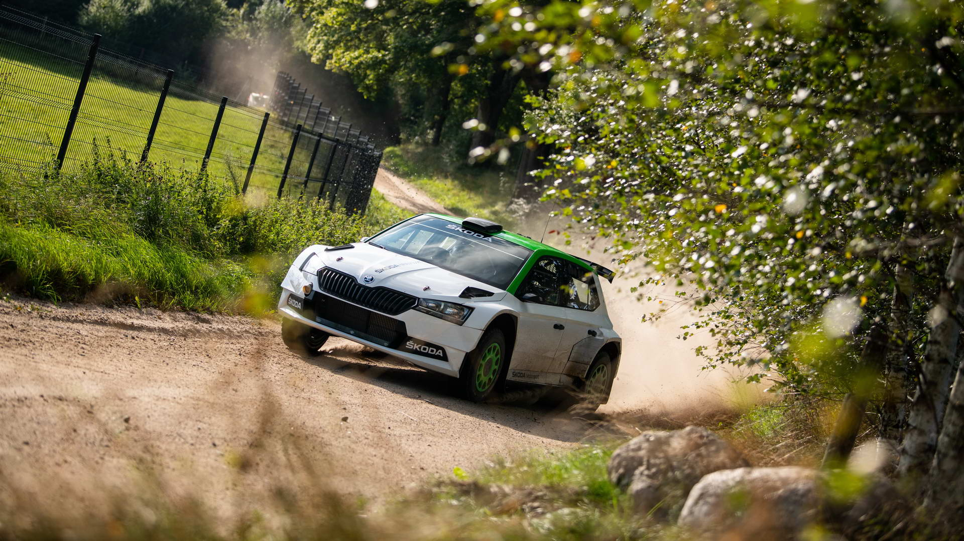 Skoda Fabia Rally2 evo 2021