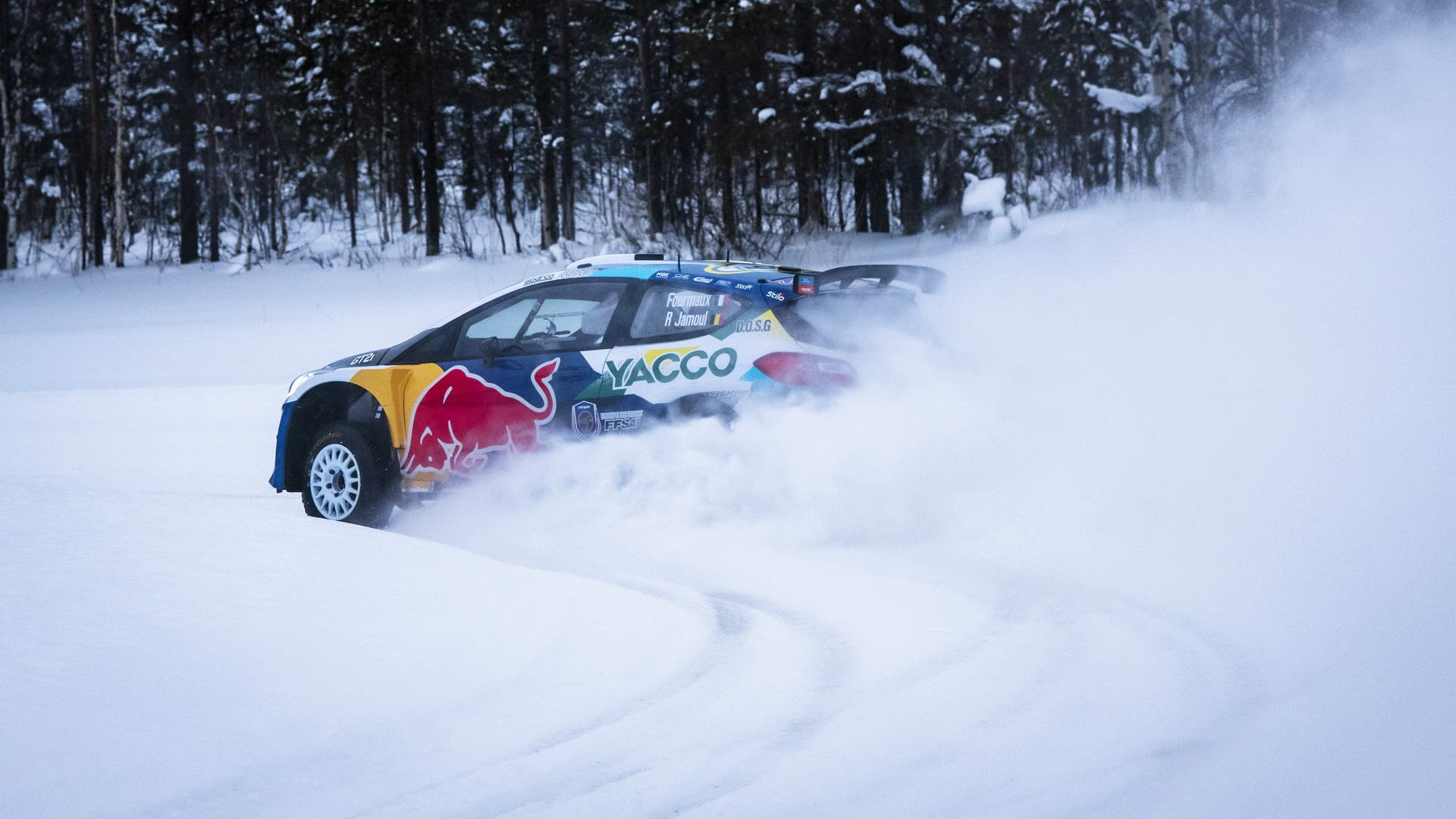 Ford Fiesta Rally2 - Red Bull