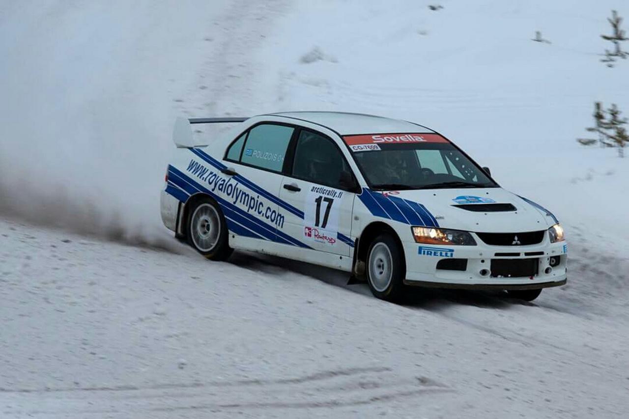 Giannis Papadimitriou - Arctic Rally