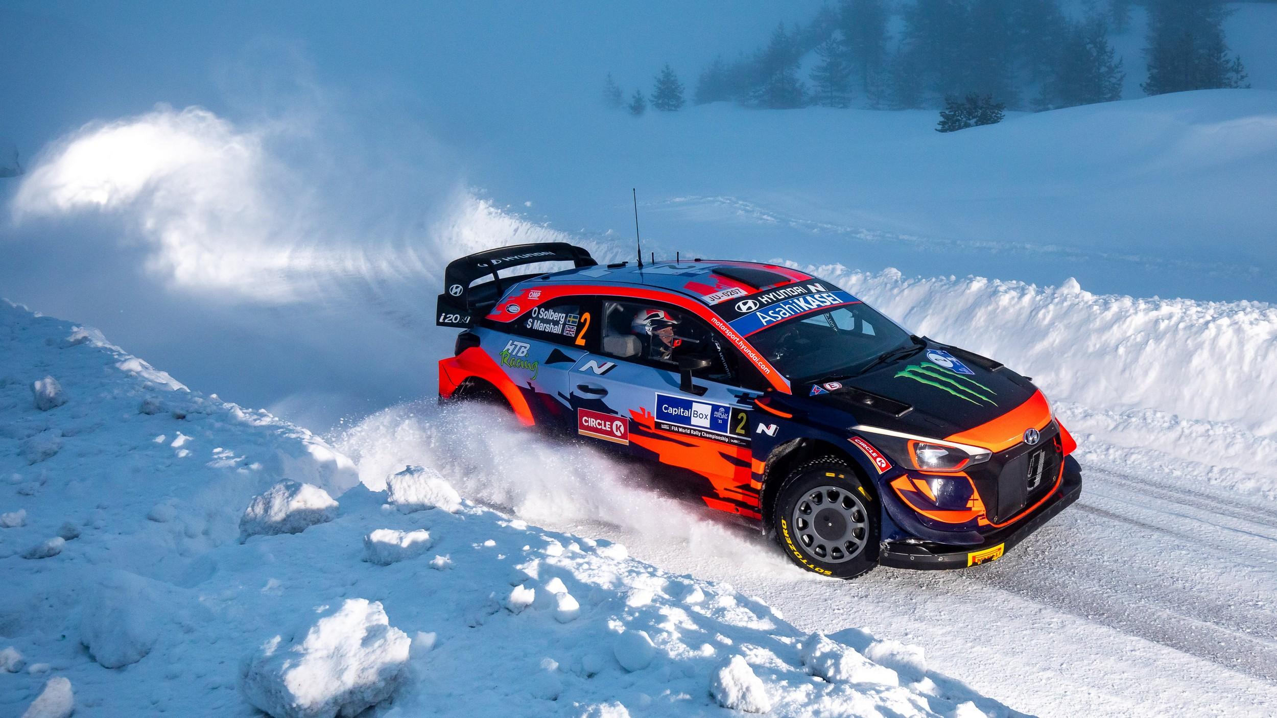 Oliver Solberg-Seb Marshall (Hyundai i20 Coupe WRC)