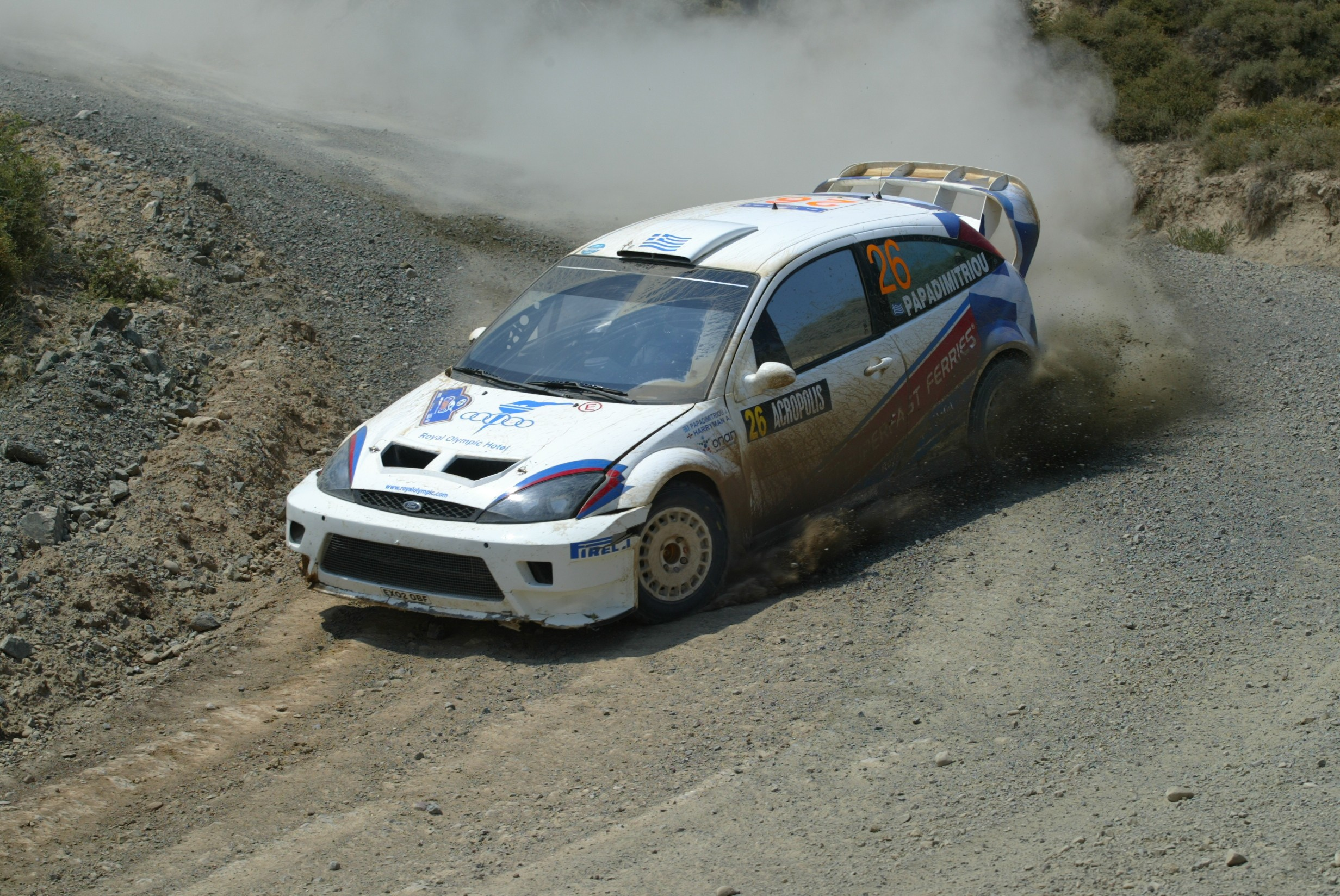 Acropolis Rally - Giannis Papadimitriou