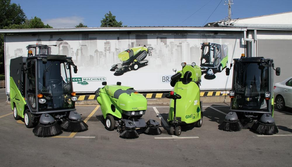 GREEN MACHINES