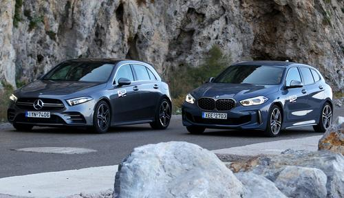 BMW M135i xDrive - Mercedes-AMG A35 4Matic