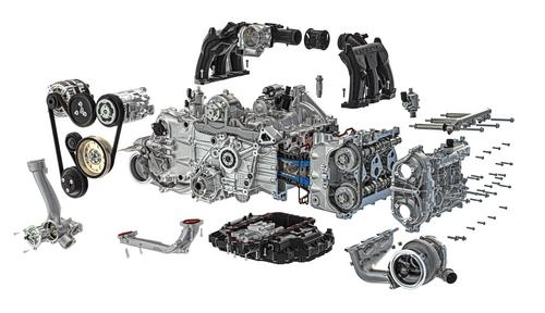 Porsche Boxer Engine